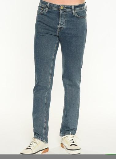 Jack & Jones Jack & Jones 12174810 Blue Denim Jean Erkek Pantolon Mavi